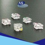 Parentesi trasparenti ortodontiche delle parentesi di ceramica libere dello zaffiro