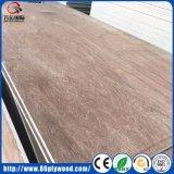 Madera contrachapada comercial 4X8 del álamo de la fábrica de China Linyi