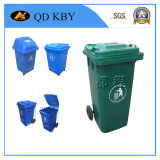 240 리터 쓰레기통 옥외 플라스틱 폐기물 궤