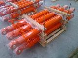 Manufatura do cilindro de lâmina da escavadora da máquina escavadora de Dh60 Doosan/cilindro hidráulico