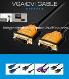 Concha de metal de alta velocidade cabo DVI Macho para Macho