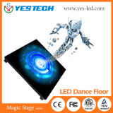 Danse polychrome lumineuse superbe 50*50cm d'étage de l'étape DEL de couleur de RVB