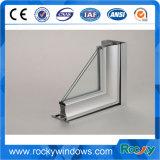 Perfil del aluminio de la ventana del tratamiento superficial de Finshed del molino