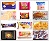 O sistema de alimentação e de embalagem automático coneta com a linha de produção