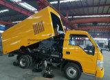 Foton 6 Rad-automatischer Straßen-Reinigungs-Straßen-Kehrmaschine-Wäsche-LKW