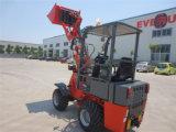 MIT Palletengabel de Radlader de chargeur de roue de Maschine de ferme d'agriculture de Certifiziert de la CE d'Everun Er06 mini