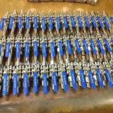 CF8 de Kogelklep van het roestvrij staal 3PC Met het Handvat van het Sluiten