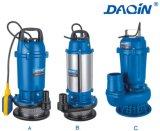 Pomp de Met duikvermogen van het Water van de Riolering van het Aluminium van Qdx (QDX2)