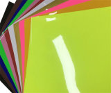 최신 판매 1.22*50m 높은 광택 있는 PVC 색깔 비닐 스티커