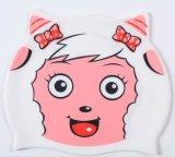Cappello di nuoto del silicone divertente più poco costoso per i bambini