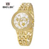 Belbi Sier graveert Horloge Daffodiquartz voor Dame