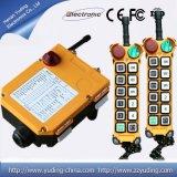 Regulador industrial F24-12s de Radio Remote de la grúa del alzamiento de los botones superiores de la venta 12