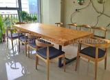固体木のダイニングテーブルの居間の家具(M-X2395)