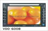 Deux DIN Lecteur de DVD de voiture (VDO-6008)
