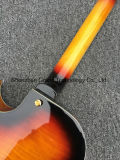 Guitare creuse de jazz de corps du rayon de soleil L5 de cru de F-Trous pleine (GJ-28)