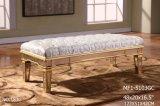 Banco de cama rectangular especial con espejo decorativo