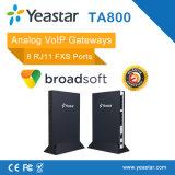 Yeastar Neogate 8 Entsprechungs-Kommunikationsrechner der Kanal-FXS VoIP