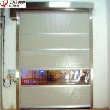 空気隔離の速いクリーンルームの圧延のドアの高速連結のドア