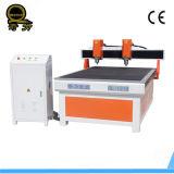 Economische Scherpe Machine ql-1212 van de Router van de Reclame CNC van Twee As