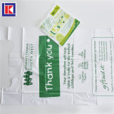 Handle를 가진 OEM HDPE Packaging Plastic Clothes Collection Charity Bag