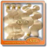 Vente chaude de cheveux brésiliens d'or de couleur aux Etats-Unis