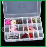 24 пластмассы коробки хранения решеток решеток прозрачных съемных