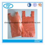 HDPE/LDPEはショッピングプラスチックTシャツ袋を小売りする
