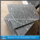 Mattonelle di pavimentazione grige della cucina/stanza da bagno della pietra del granito della neve naturale