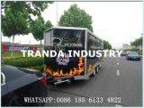 كلّيّا صنع وفقا لطلب الزّبون [فست فوود] شاحنة لأنّ عمليّة بيع/شارع طعام شاحنة
