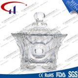 200ml de gegraveerde Kom van het Glas voor Suikergoed (CHM8445)