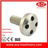 El trabajar a máquina del CNC del Pin de acero de la cuerda de rosca