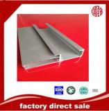 Südamerika-Aluminiumstrangpresßling anodisiertes verfilztes Profil für Küche-Möbel