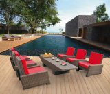 Garden Patio Wicker / Rattan Sofa Set - Mobília ao ar livre (LN-2122)