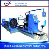 Tagliatrice d'acciaio di profilo del tubo di CNC del plasma di montaggio