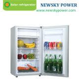 Debe refrigerador solar de 12 voltios 118L refrigerador solar pequeña nevera eléctrica