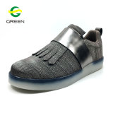 Miroir Greenshoe PU Lady Chaussures Sneaker Femme Chaussures occasionnel les loisirs