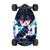 Commerce de gros 4 roues Mini batterie amovible de skateboard électrique