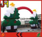 膨脹可能なクリスマスの装飾、膨脹可能なクリスマスのアーチ