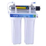 Double filtre à eau de filtration avec la lumière UV