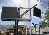 Venta caliente instalación fija a todo color P10/P8 Baño 3 en 1 320 mm*160 mm de pared de vídeo LED de exterior del módulo de captura de 1/4 para publicidad