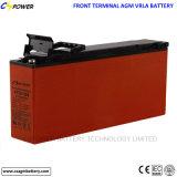 Batterie terminale avant de la longue vie 12V200ah pour le système solaire de télécommunications de /UPS/