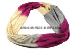 Customized Color Sewing Collar Wool Like Scarf para senhoras (ABF22005100)