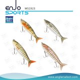Multi iscas de pesca artificiais Life-Like articuladas do equipamento de pesca do mergulho profundo de Swimbait da atração da pesca