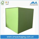 Fabricante ondulado da caixa da caixa do cartão da caixa da roupa do armazenamento do cubo maior do tamanho