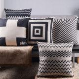 Descansos de Throw de linho da polegada da cópia 18X18 do algodão para o sofá