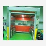 Portello veloce automatico di rotolamento del PVC della Cina per il workshop
