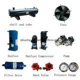Luft abgekühlte industrielle Kühler-Fabrik des Wasser-75kw für Nahrungsmittelmaschinerie