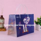 Fabriqué en Chine Fourniture Sacs en plastique en plastique PVC imprimé pour paquet cadeau de Noël (sacs-cadeaux)