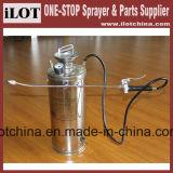 Ilot &#160 ; compactage inoxidable portatif Sprayer&#160 de la pression 4L ;