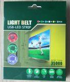 Strook van de Stemming van Backlight van de Last USB van TV de Lichte Lichte 5V RGB